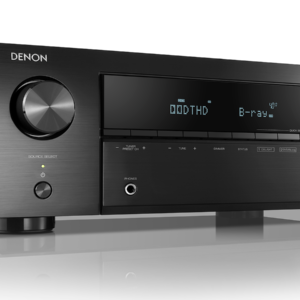Denon AVR-X250BT Receiver AV 5.1 cu Bluetooth și 4K Ultra HD