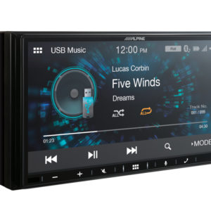 ALPINE iLX-W650BT SISTEM MULTIMEDIA DE 7″, COMPATIBIL APPLE CARPLAY SI ANDROID AUTO