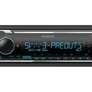 KENWOOD KMM-BT356 RADIO CU USB/BLUETOOTH, MULTICOLOR