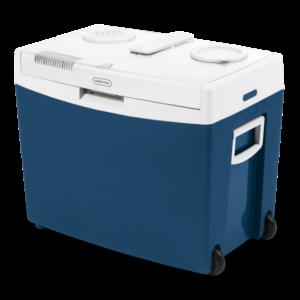 Mobicool MT35W Cutie termoelectrica de 33l cu roti, albastru, cald/rece, 12/230 V