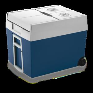 Mobicool MT48W Cutie termoelectrica de 48l cu roti, albastru, 12/230 V