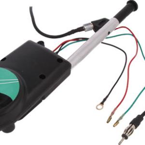 7677154 Calearo Antena telescopica electrica AM/FM, cu montaj pe aripa