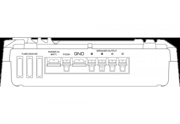 Kenwood KAC-9106D