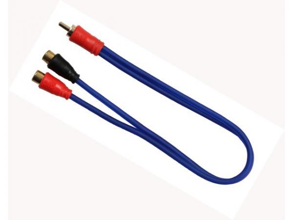 890703 Conector Y RCA 1T/2M, Aiv